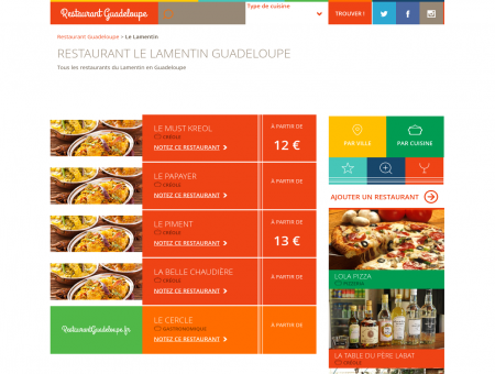 Restaurant Le Lamentin Guadeloupe