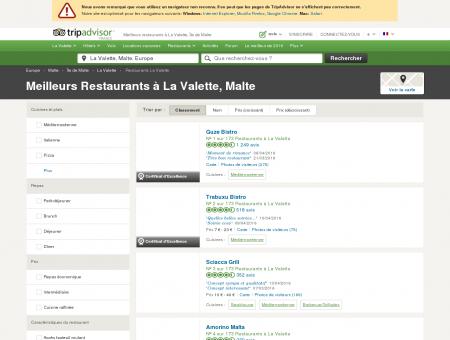 Les 10 meilleurs restaurants à La Valette -...
