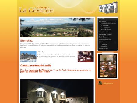 Auberge La Césarde - Auberge restaurant de...