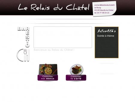 Le Relais du Châtel, restaurant à Marcilly-le...