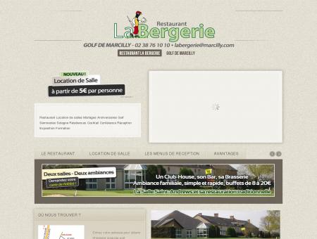 Restaurant La Bergerie - Golf de Marcilly -...