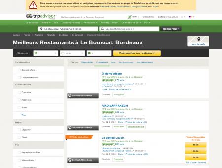 Les 10 meilleurs restaurants à Le Bouscat -...