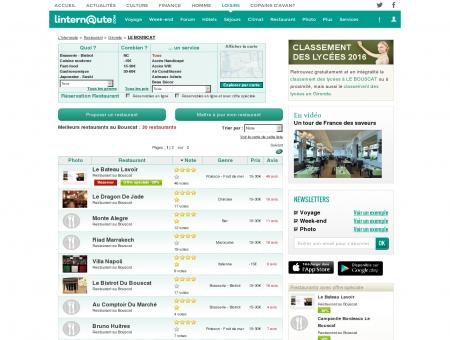Restaurant Le Bouscat : Le guide des meilleurs...