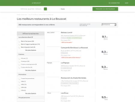 Restaurants Le Bouscat - Restaurants Le Bouscat : réservez.