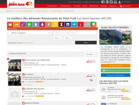Restaurants Luz-Saint-Sauveur, le meilleur...