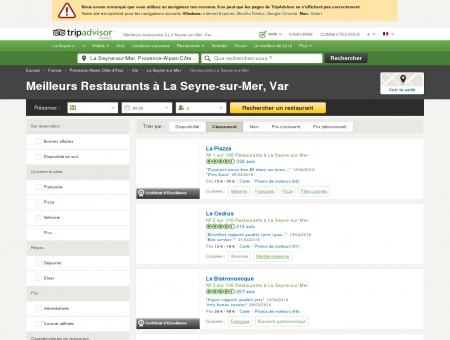 Les 10 meilleurs restaurants à La Seyne-sur...