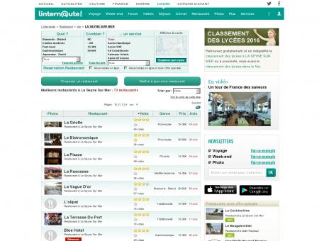 Restaurant La Seyne Sur Mer : Le guide des...