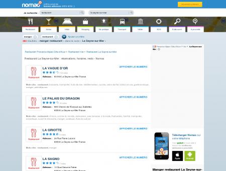 Restaurant La Seyne-sur-Mer : réservations,...