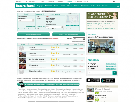 Restaurant Mareuil Les Meaux : Le guide des...