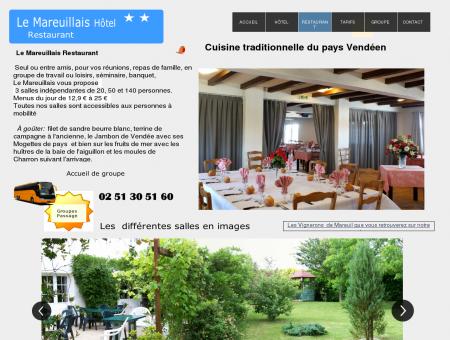 restaurant Le Mareuillais mareuil sur lay...