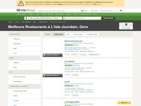 Les 10 meilleurs restaurants à L'Isle-Jourdain ...