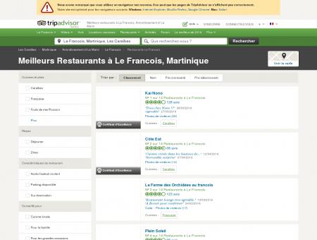 Les 10 meilleurs restaurants à Le Francois -...