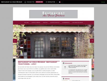 Restaurant Au Vieux Pêcheur - Limay|Réservez...