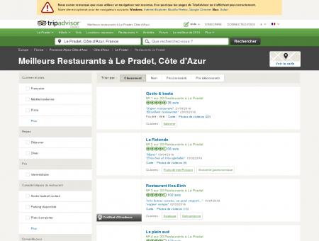 Les 10 meilleurs restaurants à Le Pradet -...