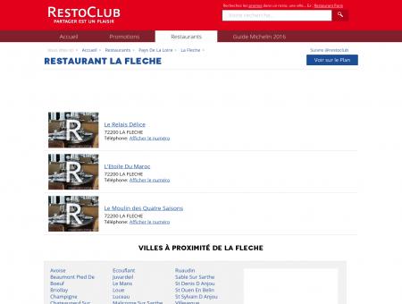 Restaurant La Fleche (72200) - RestoClub.fr