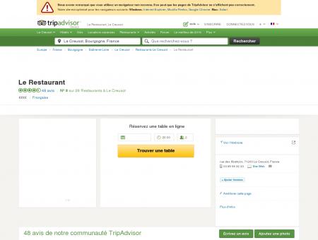 Le Restaurant, Le Creusot - Restaurant Avis,...