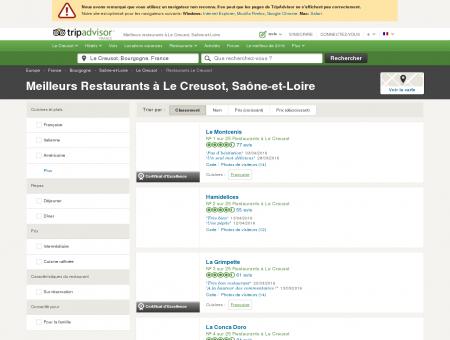 Les 10 meilleurs restaurants à Le Creusot -...