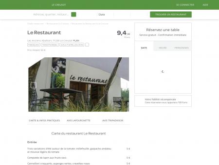 Restaurant Le Restaurant à Le Creusot -...