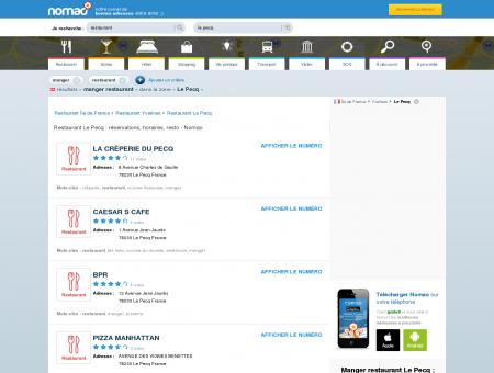 Restaurant Le Pecq : réservations, horaires,...