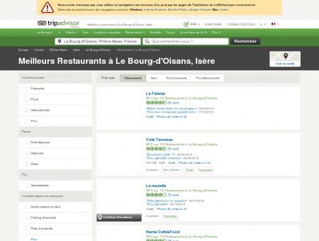 Les 10 meilleurs restaurants à Le Bourg...