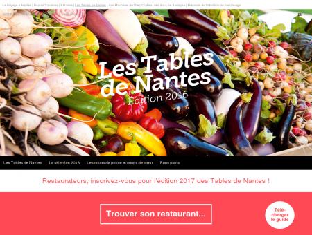 Les Tables de Nantes | Guide des restaurants et...