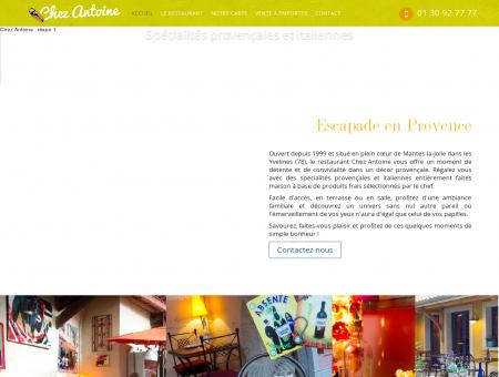 Restaurant Chez Antoine à Mantes La Jolie (78 ...