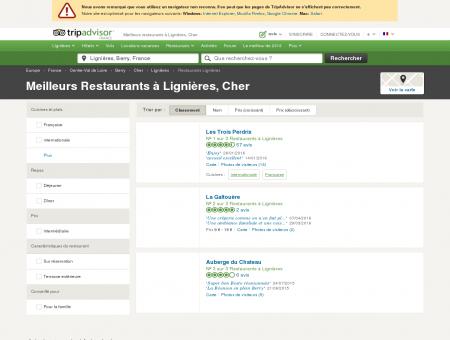 Les meilleurs restaurants à Lignières -...