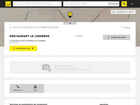 RESTAURANT LE LIGNIERES Lignières de...