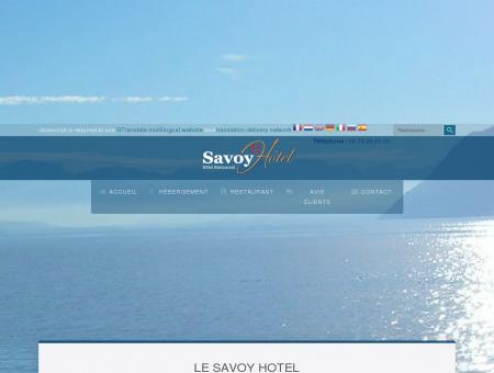 Le Savoy Hotel - Accueil