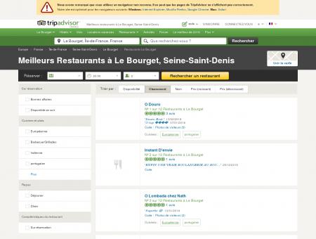 Les 10 meilleurs restaurants à Le Bourget -...