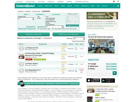 Restaurant Le Bourget : Le guide des...