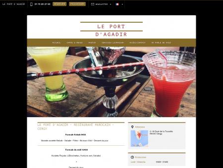 Le Port d'Agadir - Cergy|Réservez en ligne