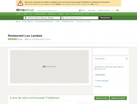 Restaurant Lou Landais, Le Port - Restaurant...