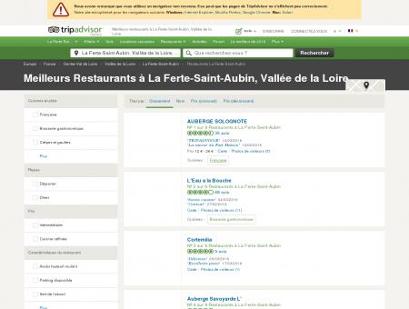 Les 10 meilleurs restaurants à La Ferte-Saint...