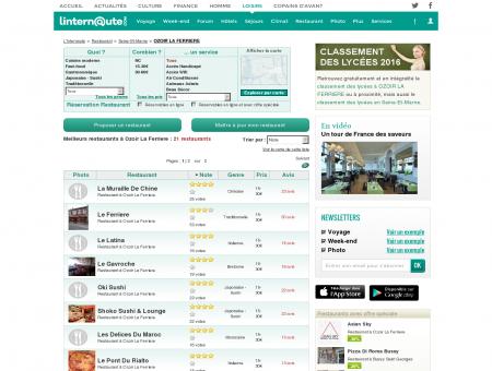 Restaurant Ozoir La Ferriere : Le guide des...