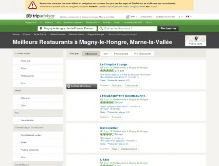 Les 10 meilleurs restaurants à Magny-le...