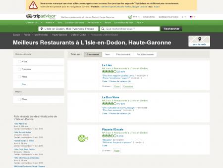 Les meilleurs restaurants à L'Isle-en-Dodon -...