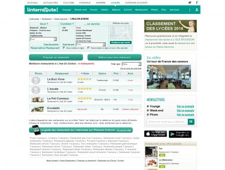 Restaurant L'isle En Dodon : Le guide des...