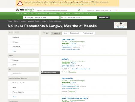 restaurant longwy