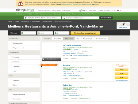 Les 10 meilleurs restaurants à Joinville-le-Pont ...