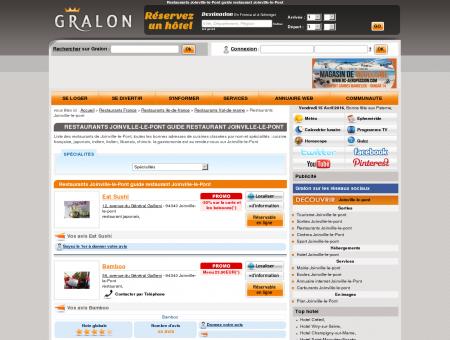 Restaurants Joinville-le-Pont guide...
