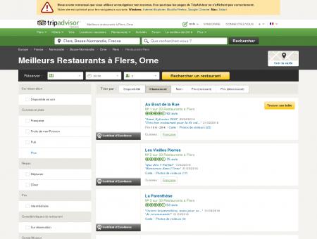 Les 10 meilleurs restaurants à Flers - TripAdvisor