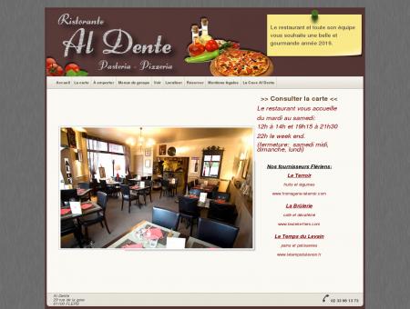 Restaurant Al Dente - Pasteria - Pizzeria - à Flers