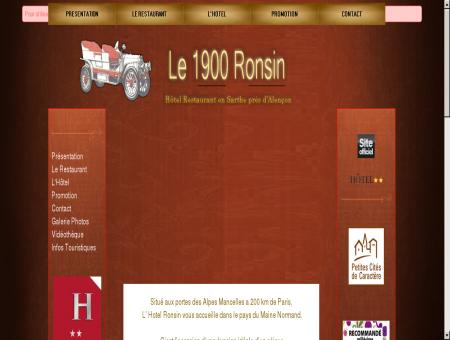 hotel restaurant Sarthe