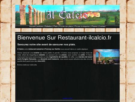 restaurant il calcio, 72130 Fresnay sur Sarthe