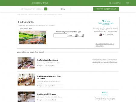 Restaurant La Bastide | la-bastide.lafourchette.com