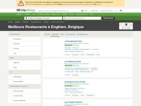 Les 10 meilleurs restaurants à Enghien -...