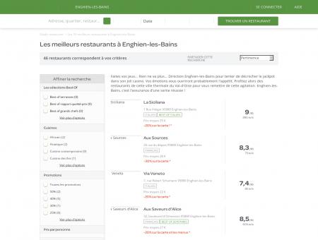 Les 10 meilleurs restaurants à Enghien-les...