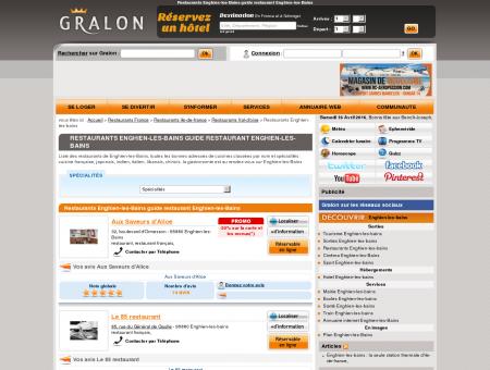 Restaurants Enghien-les-Bains guide...