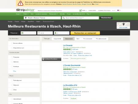 Les 10 meilleurs restaurants à Illzach -...